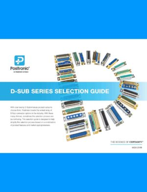 M024 D-Sub Selection Guide